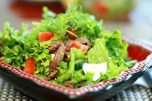 Công thức làm salad trộn thịt bò ngon và hấp dẫn