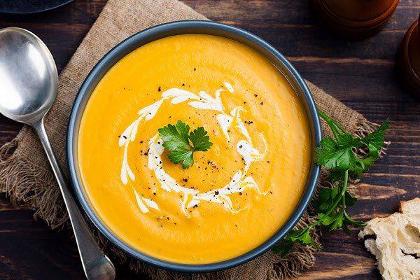 Bí quyết làm món súp bí đỏ kem tươi giàu dinh dưỡng