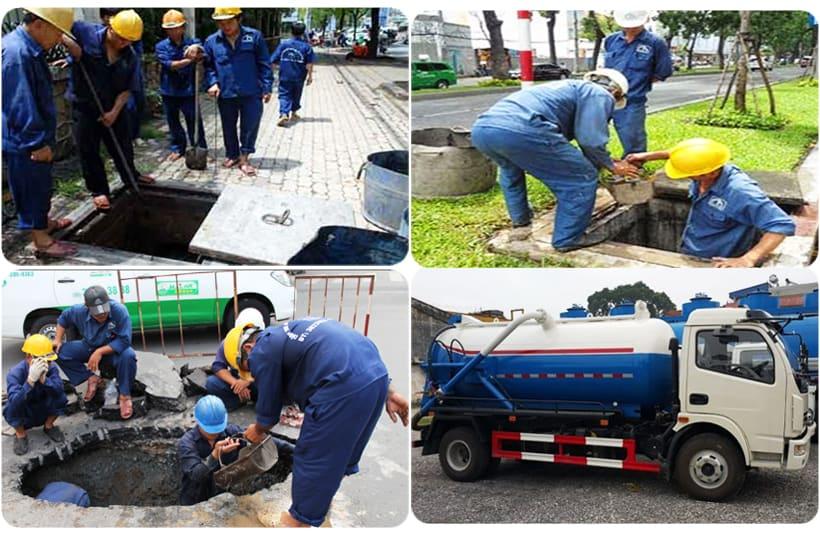 Tổng hợp 10 công ty rút hầm cầu - Thông cống nghẹt uy tín nhất TP. HCM