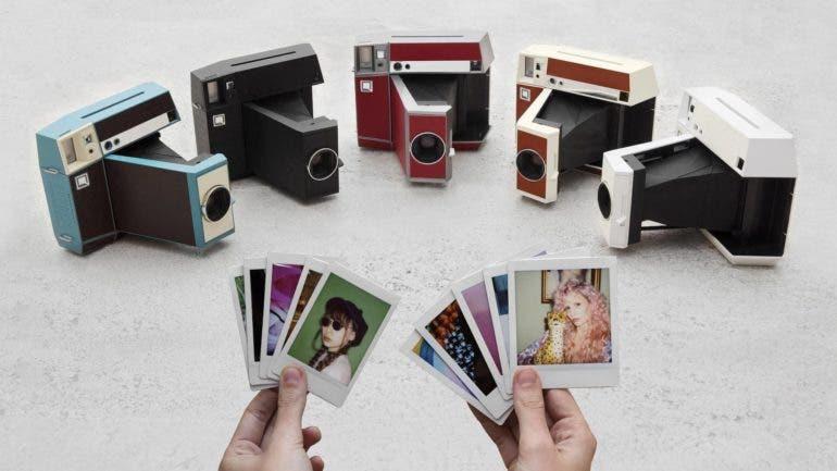 Lomo tung máy ảnh in tức thì Instant Square có thể in được ảnh vuông và dọc