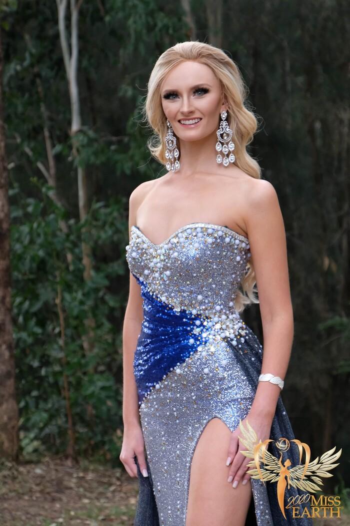 Dàn mỹ nhân Miss Earth trình diễn váy dạ hội: Hoa Thái nổi bật với Evening Gown 'Địa cầu' lấp lánh
