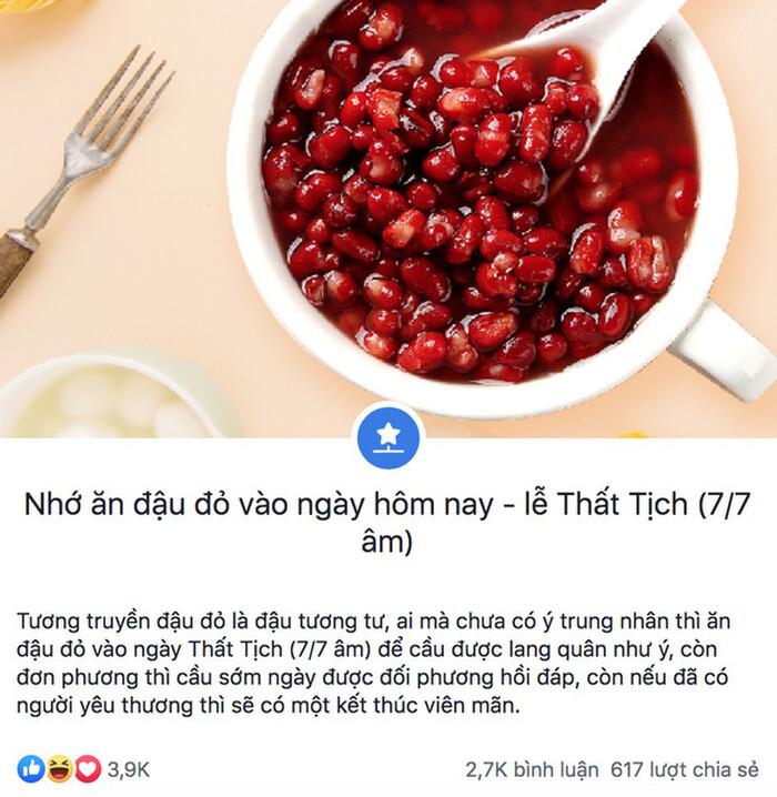 Ngày Thất Tịch: Chè đậu đỏ 'cháy hàng' vì giới trẻ tin rằng ăn vào sẽ có người yêu