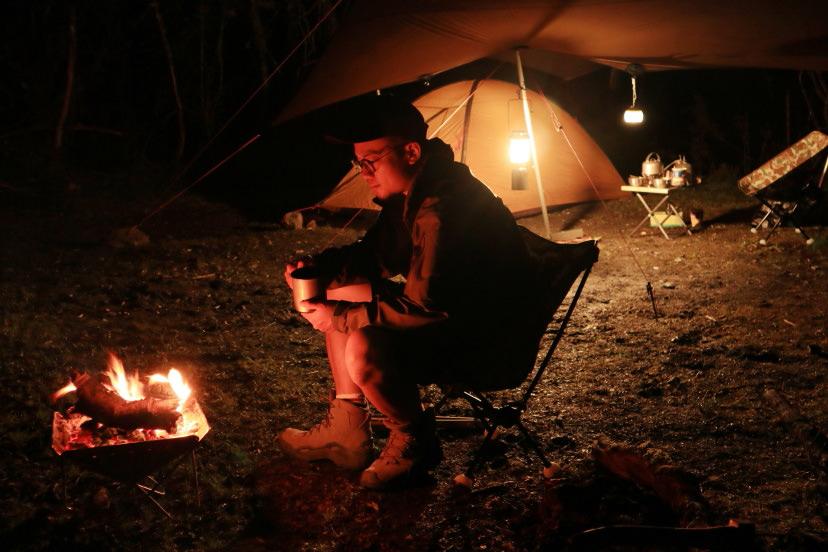 Địa điểm cắm trại, chụp bằng EOS M6