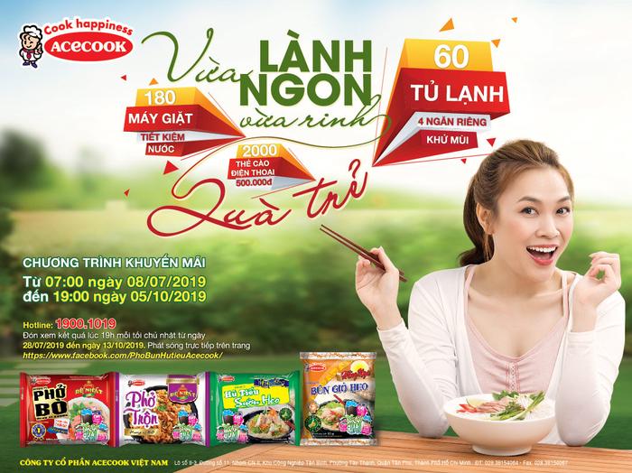 Acecook Việt Nam - Muôn vàn quà trẻ, rinh ngay về nhà