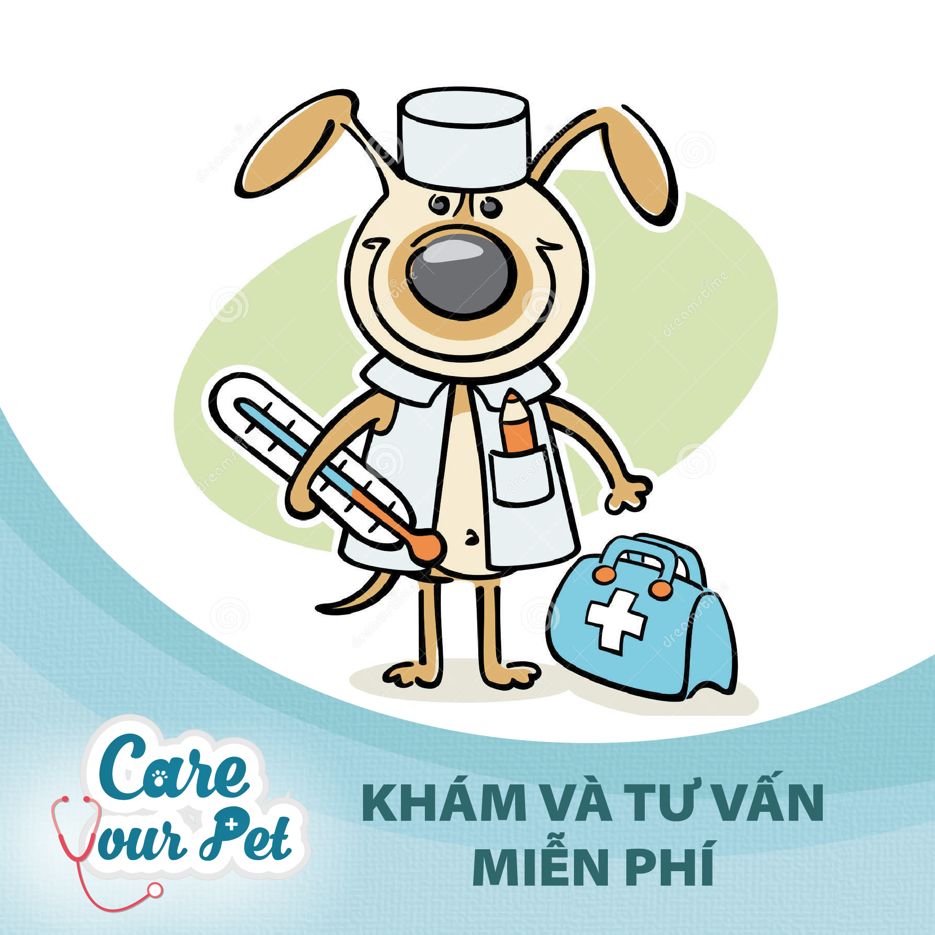 [CARE YOUR PET] Ngày Hội Khám Chữa Bệnh Miễn Phí Cho Thú Cưng