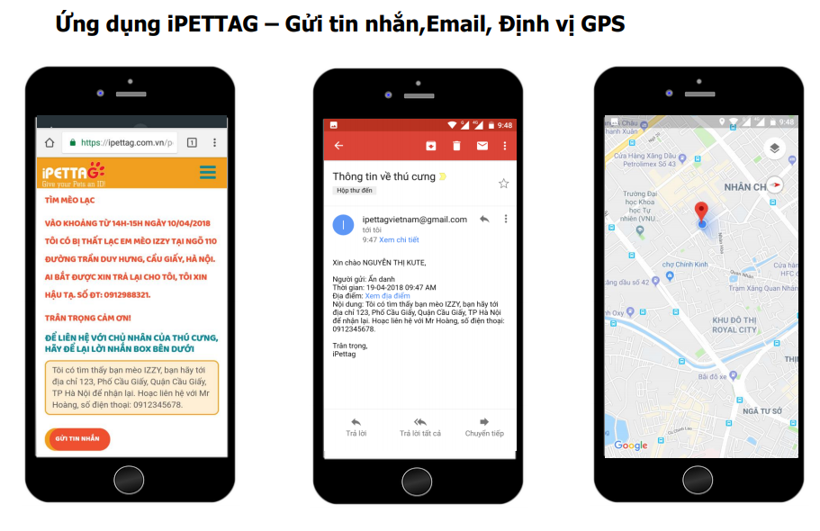 iPetTag – Phát Minh Mới Giúp Chủ Nhân Tìm Kiếm Thú Cưng Bị Thất Lạc