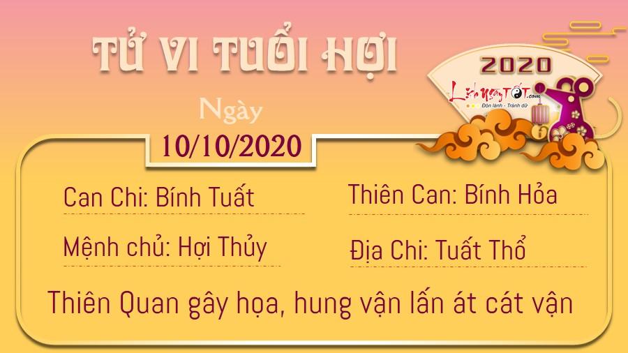 Tử vi thứ 7 ngày 10/10/2020 của 12 con giáp: Sửu rắc rối, Dậu phiền lòng