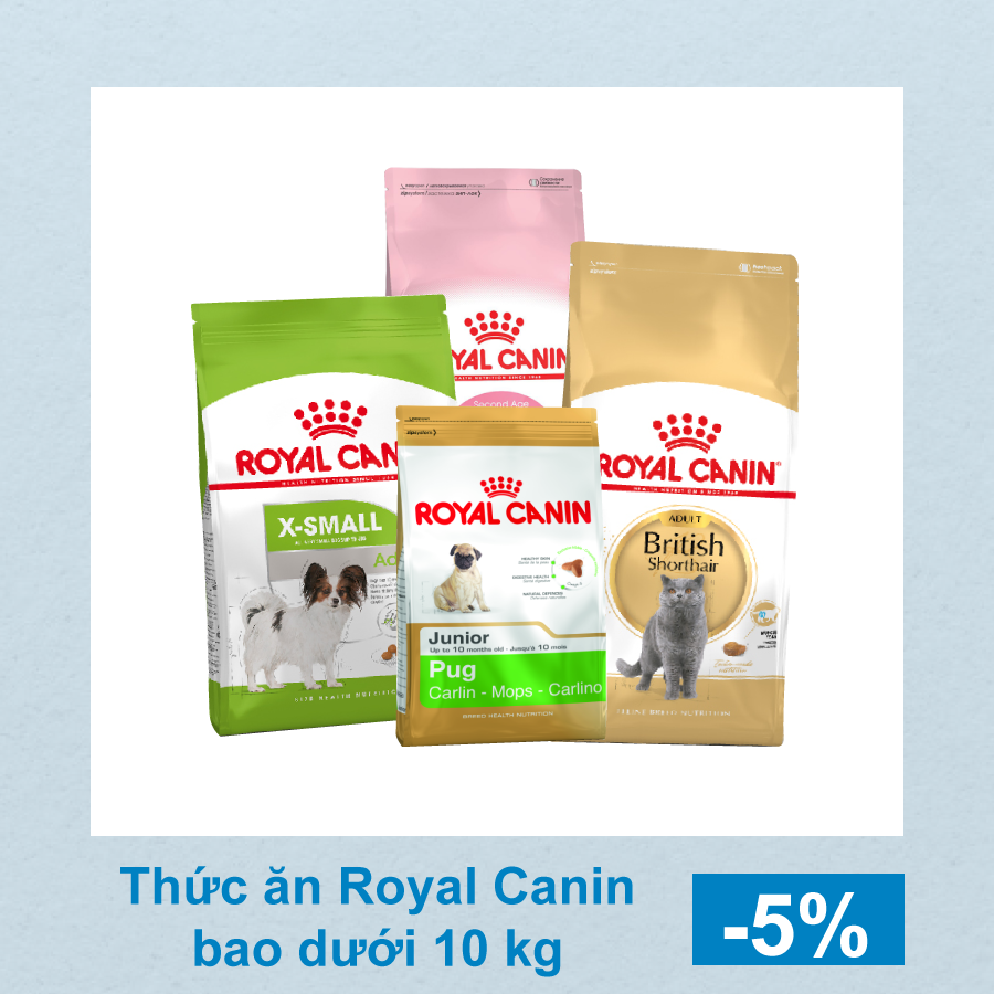 (26 - 28/1/2019) SALE UP TO 10% ROYAL CANIN