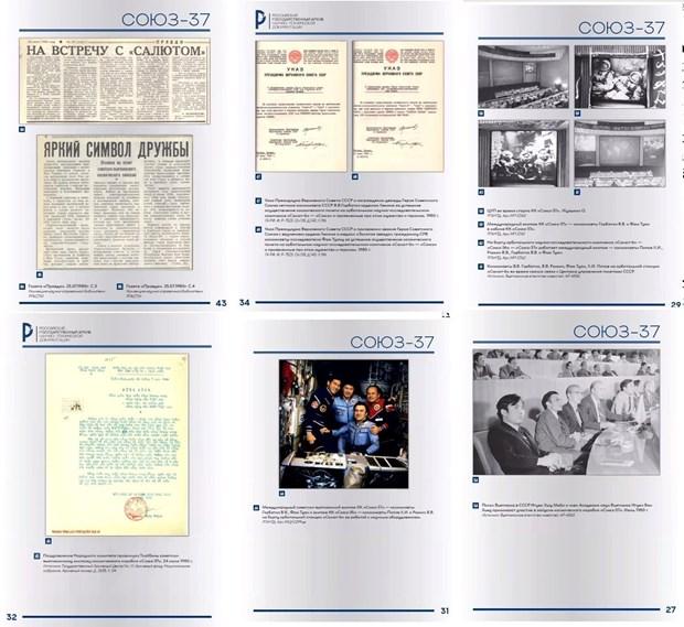 Giới thiệu ấn phẩm đặc biệt kỷ niệm 40 năm chuyến bay vũ trụ Xô-Việt