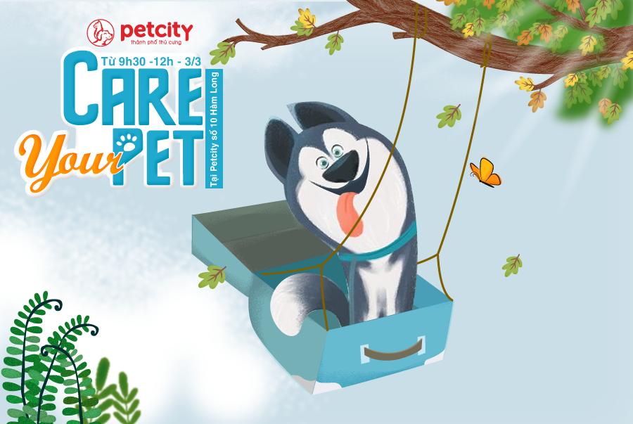 ( 3/3/2019 ) CARE YOUR PET - Ngày Hội Tiêm Phòng Giá Gốc Và Khám Chữa Bệnh Về Da Miễn Phí Cho Thú Cưng