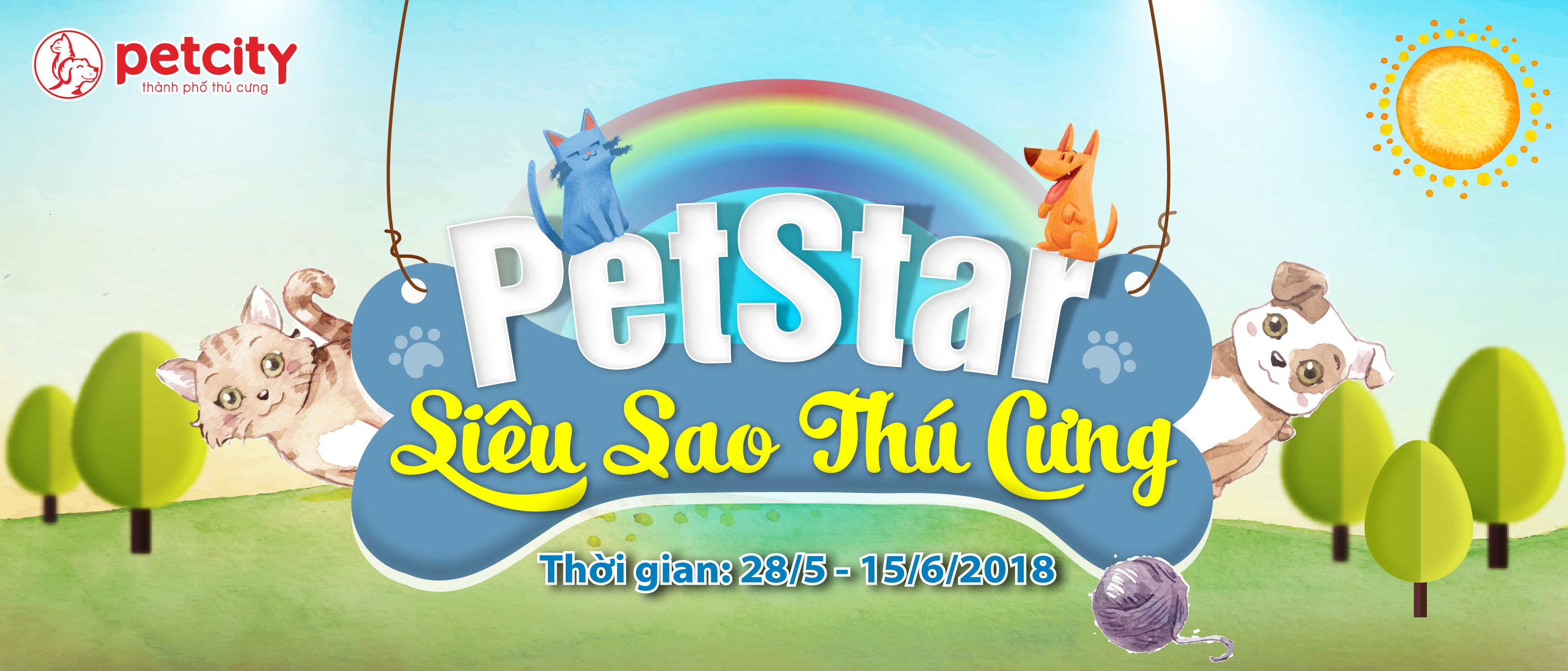 "Cuộc Thi Ảnh Online ""Pet Star Super Model – Siêu Sao Siêu Mẫu"""
