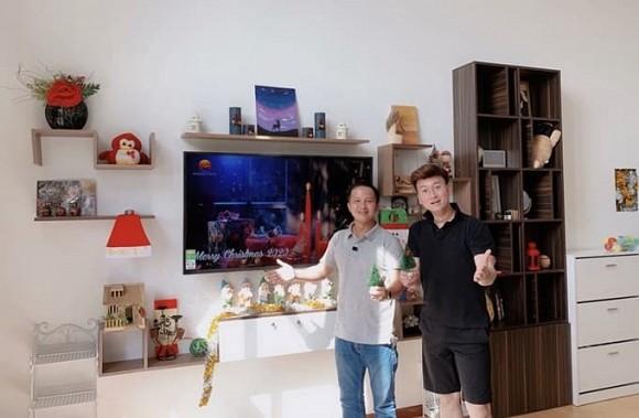 Bên trong căn hộ thông tầng 130 m2 của nhạc sĩ Sỹ Luân