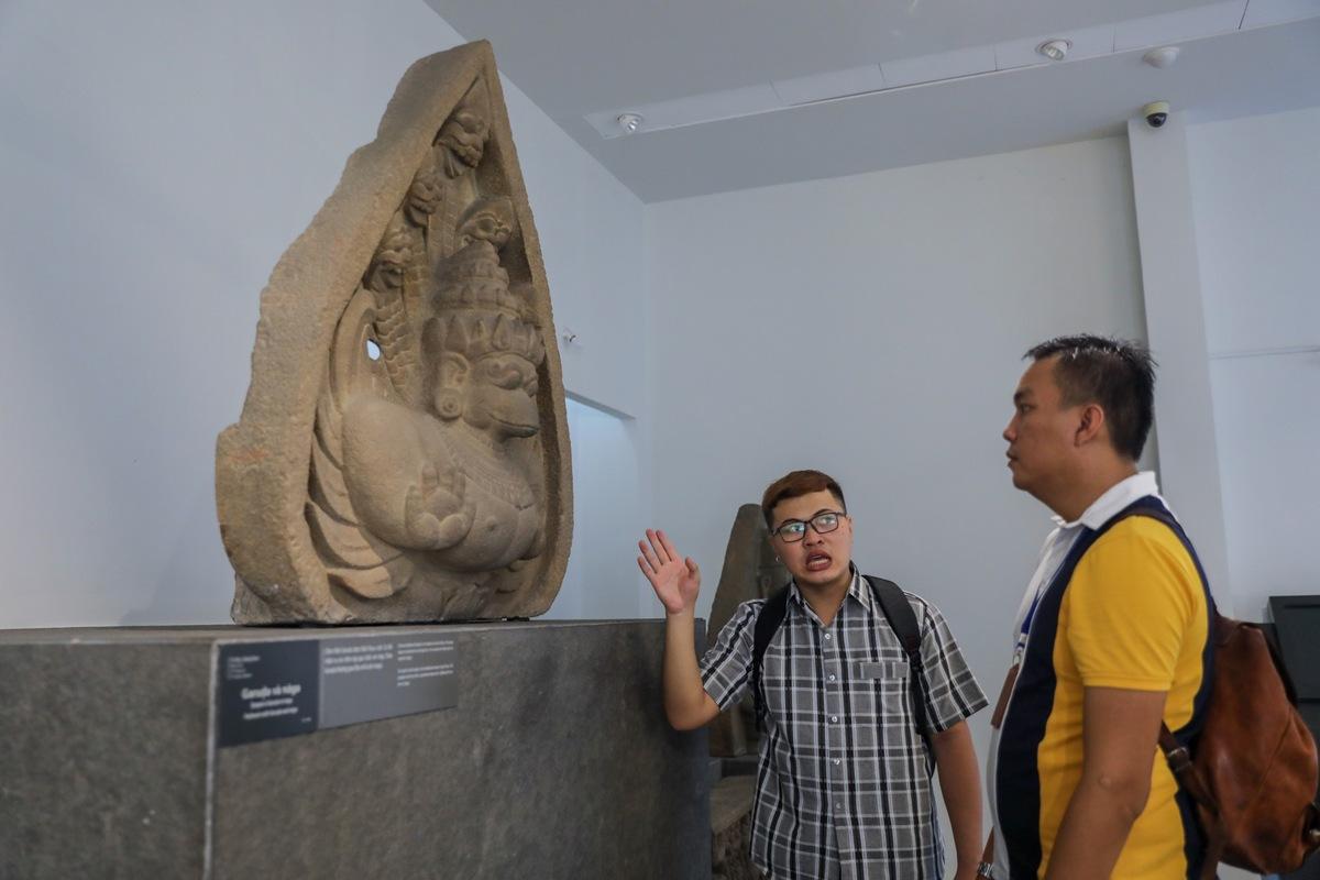 Những cổ vật Chămpa ở Sài Gòn