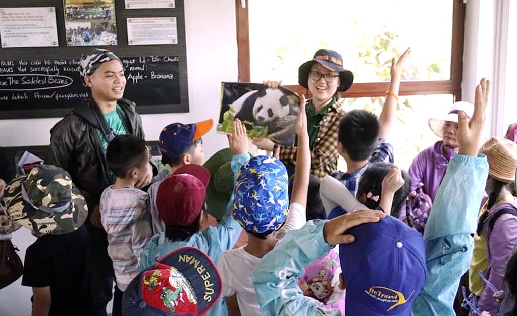Du lịch kết hợp với giáo dục bảo vệ thiên nhiên