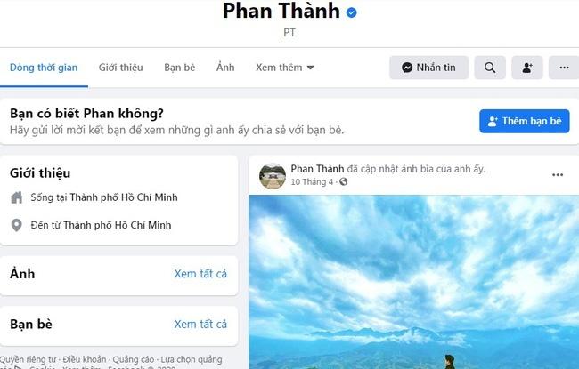 Phan Thành tái xuất sau thời gian xóa hết ảnh Facebook, động thái mới gây chú ý