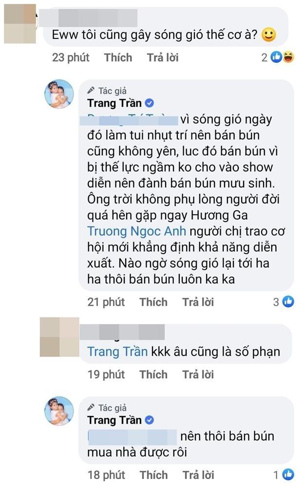 Trang Trần: 'Bị trù dập nghề mẫu nên đành bán bún đậu mưu sinh'