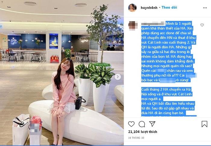 Bạn thân Huỳnh Anh tố Quang Hải bạc bẽo 'qua cầu rút ván'?