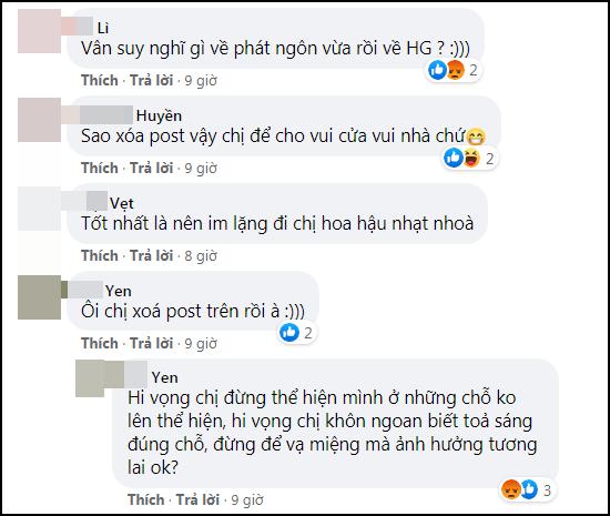 Lỡ miệng bênh Hương Giang, hoa hậu Khánh Vân bị cảnh cáo hội đồng