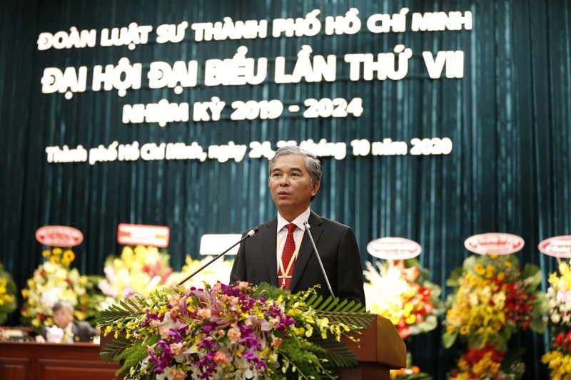 Đại hội đại biểu Đoàn Luật sư TP.HCM thành công tốt đẹp