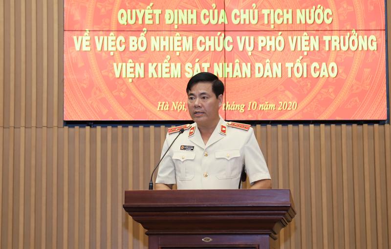 Ông Nguyễn Quang Dũng làm Phó Viện trưởng VKSND Tối cao