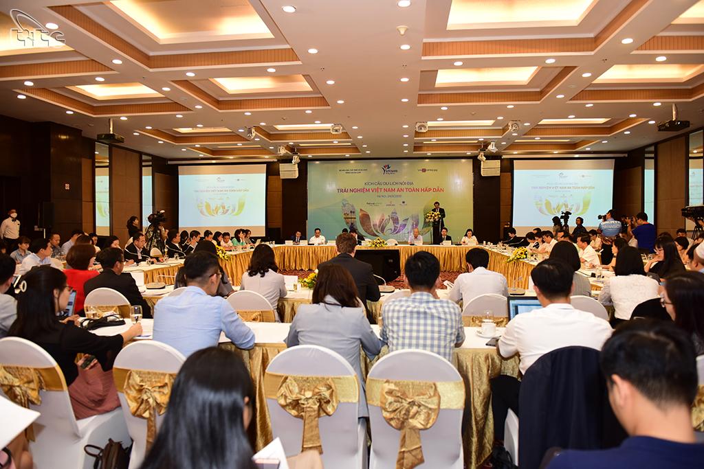 Tổng cục Du lịch tổ chức hội nghị kích cầu du lịch - bảo đảm tiêu chí an toàn và hấp dẫn