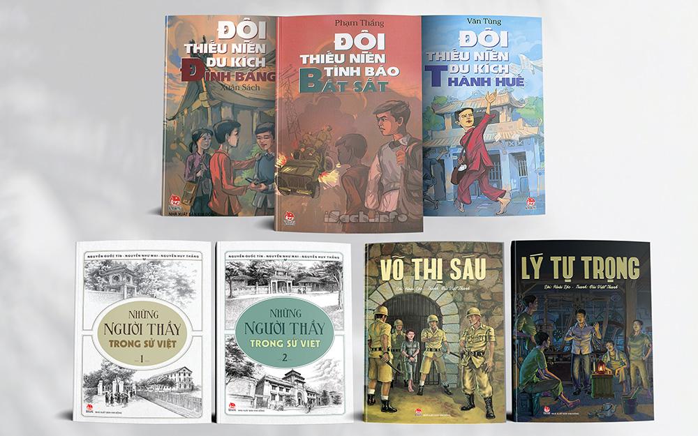 Giới thiệu bộ ấn phẩm sách lịch sử và giáo dục truyền thống cách mạng