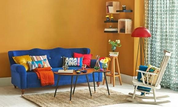 Phong thủy phòng khách cho người mệnh hỏa nên chọn sofa thế nào?