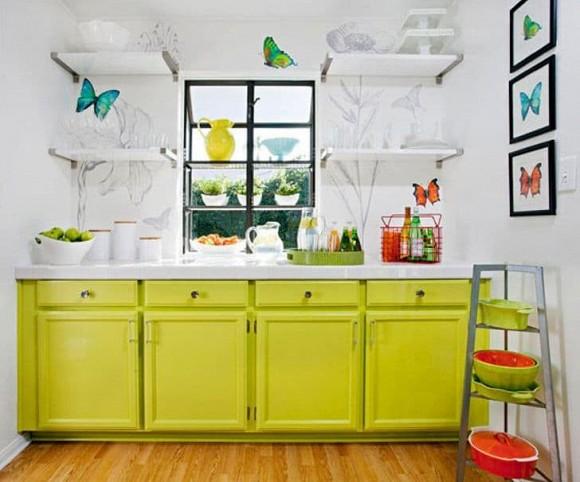 20 ý tưởng tuyệt vời cho một căn bếp nhỏ