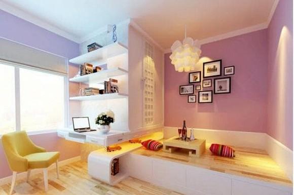 Quá lãng phí nếu chỉ có một chiếc giường trong phòng ngủ. Kiểu thiết kế mới đẹp và tiện ích này sẽ nhân đôi hạnh phúc lứa đôi