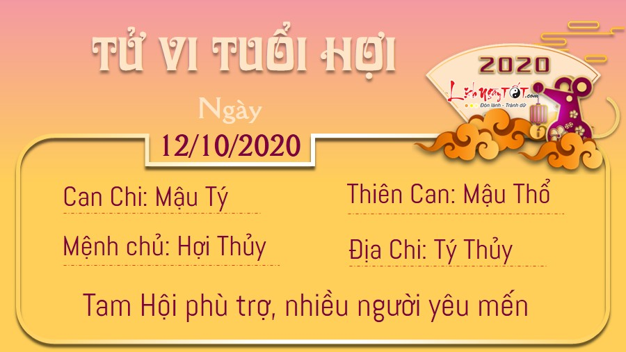Tử vi Thứ 2 ngày 12/10/2020 của 12 con giáp: Tý hưởng lộc, Mão chủ quan