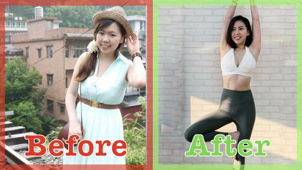Cô gái giảm 13 kg trong nửa năm nhờ tự đặt ra 5 nguyên tắc cho chính mình