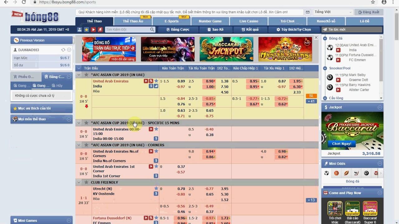 Review bong88 - Website cá cược trực tuyến số 1 Đông Nam Á