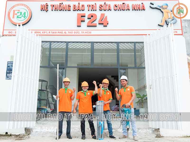 Công Ty Chống Thấm Chuyên Nghiệp F24 | Chống Thấm Triệt Để